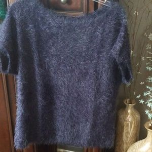 New-Jennifer Lopez Short Sleeve Sweater